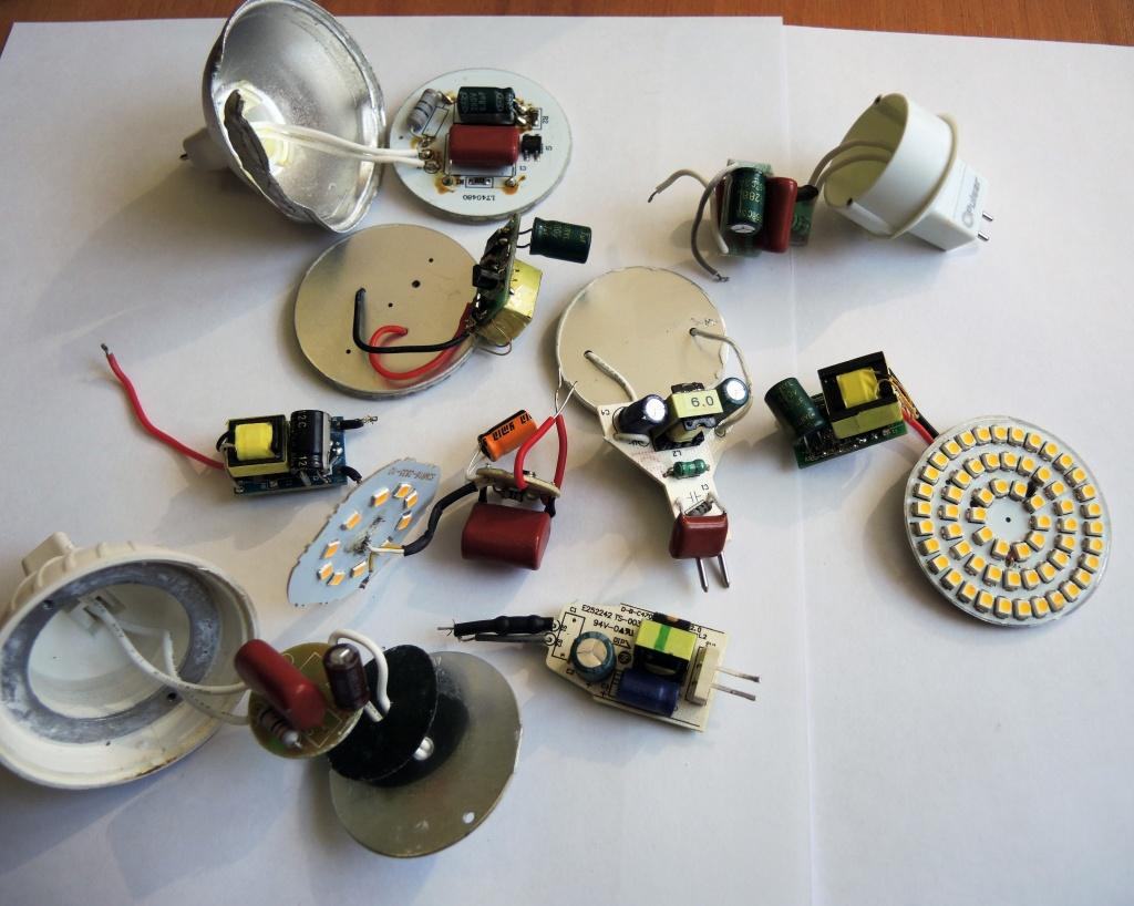 схема светодиодной лампы jazzway