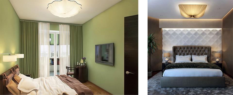 люстры фото для спальни потолочные