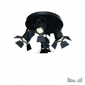 Ideal lux CIAK PL4 NERO Спот