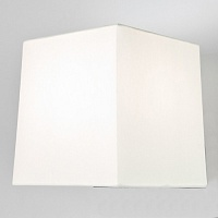 Белый квадратный абажур ASTRO Azumi Lambro Square Shade Wh