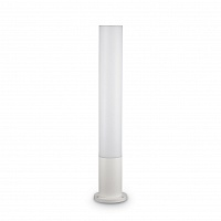 Столб уличный белый IDEAL LUX EDO OUTDOOR PT1 ROUND BIANCO